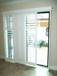 window treatments for glass front doors with half door blinds home depot
