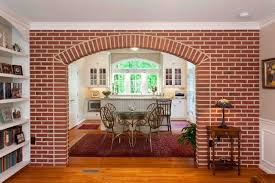 arch design in living room