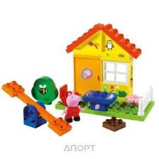 <b>Конструктор</b> BIG Свинка <b>Пеппа</b> 57073 <b>Летний домик</b>: Купить ...