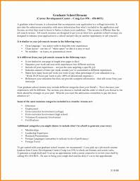 Cover Letter Mistakes Lovely Resume For Graduate School Application