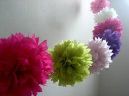 diy tissue paper flower garland choice image fresh lotus flowers