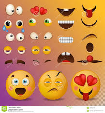 Yellow Smiley Face Character For Your Scenes Template Smile