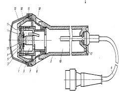 Реферат Устройство микрофонов 1 капсюль 2 корпус 3 крышка 4 кабель 5 прижимная деталь 6 манжета 7 амортизатор 8 мембрана 9 звуковая катушка 10 магнит