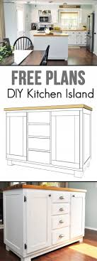 Easy Kitchen 17 Best Ideas About Build Kitchen Island On Pinterest Build