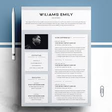 Beautiful Cv Template Word Resume Templates Design Resume Template 2 Pages For Ms