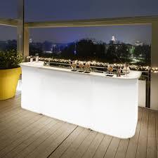 Modern Design Garden Bright Bar Counter Slide Break Line Made In Italy