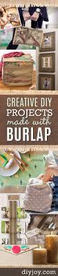 Burlap Crafts 50 Creative Diy Projects Made With Burlap Diy Joy