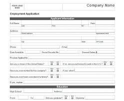 Simple Application Template Basic Job Application Basic Job Application Form
