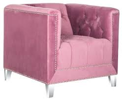 pink accent chairs blush velvet and black pink uk post s for occasional chair