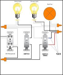bathroom wiring diagram bathroom image wiring diagram wiring diagram bathroom fan and light the wiring diagram on bathroom wiring diagram