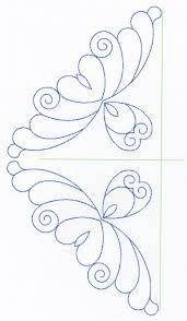 Feather Quilting Designs Set 6 &  Adamdwight.com