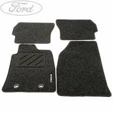car floor mats for women. Genuine Ford Fiesta MK6 Front Rear Contour Floor Mat Carpet Set 1308440 Car Mats For Women