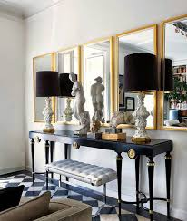 Mirror Tiles For Table Decorations Sunday Dreaming Breathtaking Rooms Foyers Interiors and Decorating 22