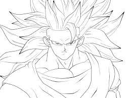 Goku Vs Vegeta Coloring Pages Games Of Ultra Instinct Kid Dragon