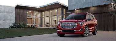 2018 gmc paint colors. wonderful gmc image of the allnew 2018 gmc terrain small suv parked in a houseu0027s driveway inside gmc paint colors