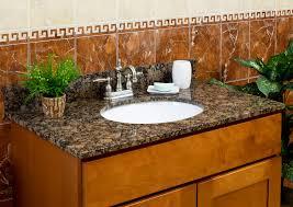 Bathroom Vanity Granite Lesscare Bathroom Vanity Tops Granite Tops Balticbrown