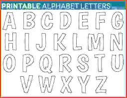 free printable letters printable free alphabet templates