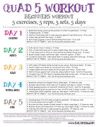 home workouts for beginners pictures