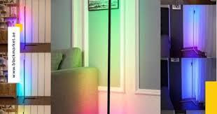Smart RGB Floor Lamp, <b>LED</b> Floor Lamp Ambient Background Light ...