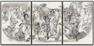 unfinished conversations an essay moma 40 acres of mules 2015 charcoal on three sheets of paper the museum of modern art new york acquired through the generosity of candace king weir