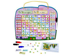 Yoyobokos Original Ele Fun Star Chart Magnetic Chore Chart For Kids Behavior Chart For Multiple Kids 3 Markers Storage Bag 16 4 X 13 Inches