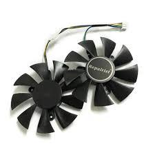 <b>2pcs</b>/<b>lot video cards cooler</b> GTX 1070 GPU fan For zotac GTX1070 ...