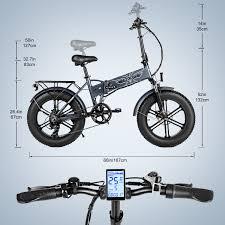 <b>EP</b>-<b>2</b> | <b>500W Folding</b> E-Bike | Fat Tire Mountain Electric Bike | <b>ENGWE</b>