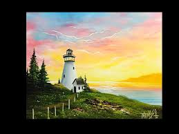 free painting lesson landscape painting painting with magic season 4 ep 10 light of the sea