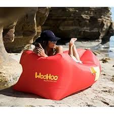 inflatable lounge furniture. Woohoo Inflatable Lounger Air Filled Balloon Furniture With Carry Bag - RED Lounge