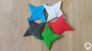 Bis Einer Heult Diy Wurfsternninjastern Origami