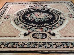 french aubusson design needlepoint oriental area rug carpet 8x10 french aubusson design needlepoint oriental area rug carpet 8x10 black beige