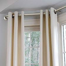 Inspirating Of Best 25 Bay Window Curtain Rod Ideas On Pinterest Bay Window  With Photo
