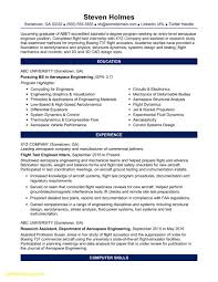 Fresh Resume Template Engineering Student Best Templates