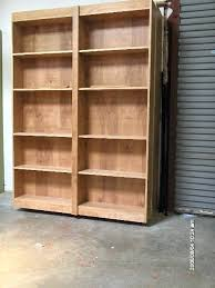 plans bookcase wall bed plans free to make a murphy