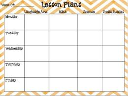 Teacher Weekly Planners Printable Weekly Planner For Teachers Download Them Or Print