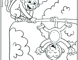 Free Printable Monkey Coloring Pages Monkeys Coloring Pages Bedroom