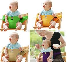 2019 baby portable seat children dining chair belt candy colors eat chair seat belt dining seat harness c4180 from angela918 4 06 dhgate com