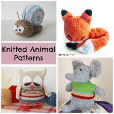 Knitted Stuffed Animal Patterns