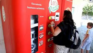 Italian Pizza Vending Machine Cool OMG Fresh Pizza Vending Machine Video By Say OMG