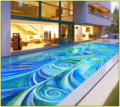 mosaic tile designs. Pool Mosaic Tile Designs