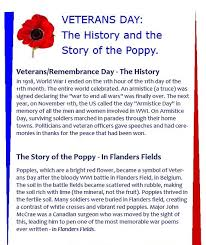 best veterans day ideas veterans day activities veterans day the history and the story of the poppy