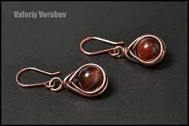 wire wrap earrings wire wrap tutorial