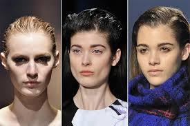 04a Mokry Vzhled Trendy Ucesy Zima 2015 Vlasy A účesy