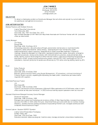 Maintenance Planner Resume Sample Feat Maintenance Resume Objective ...