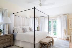 Bedroom Canopy Bed Curtains For Full Size Bed Poster Bed Canopy ...