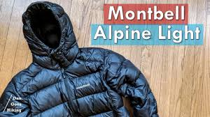 Alpine Light Montbell Alpine Light Down Jacket Full Review