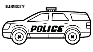 Cop Car Coloring Pages Uticureinfo