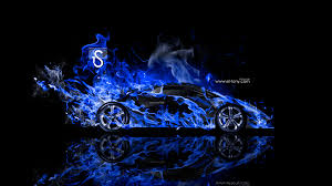 lamborghini sesto elemento fire abstract car  2