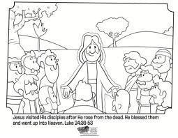 Small Picture Jesus Coloring Pages For Kids Printable Cecilymae