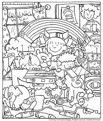 Small Picture Noah and the Ark Coloring Page